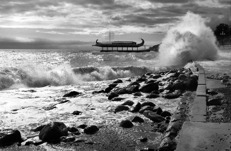 Stormy Seas at Yalta