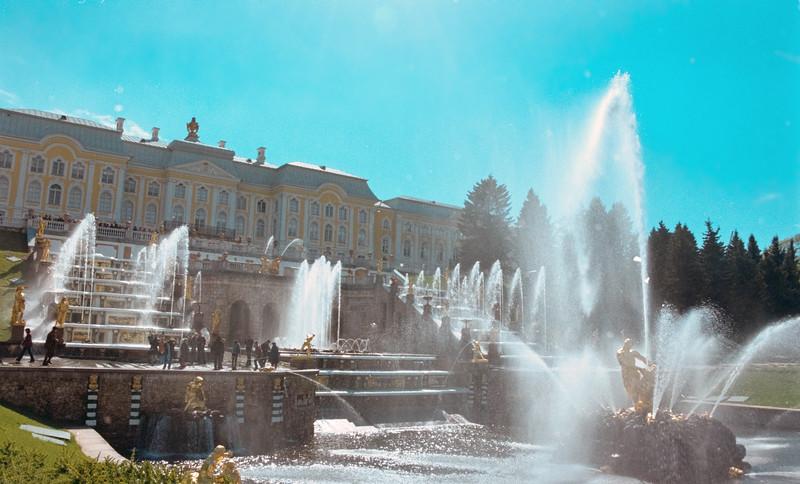 Peterhoff Palace, St Petersburg, Russia