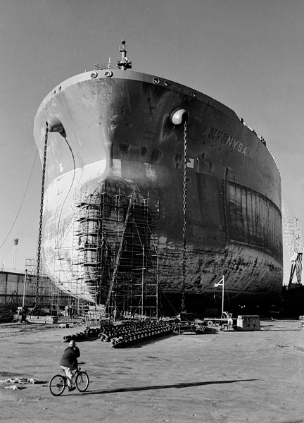 Ship repair at Dry Dock