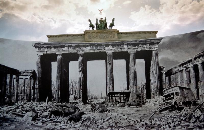 Brandenburg Gate, Berlin with Murial