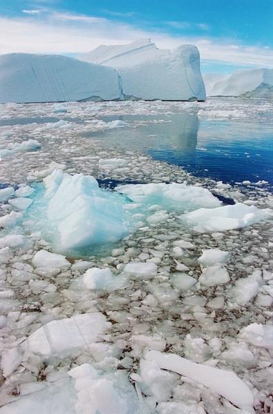 Icebergs at Ilullisat, Greenland