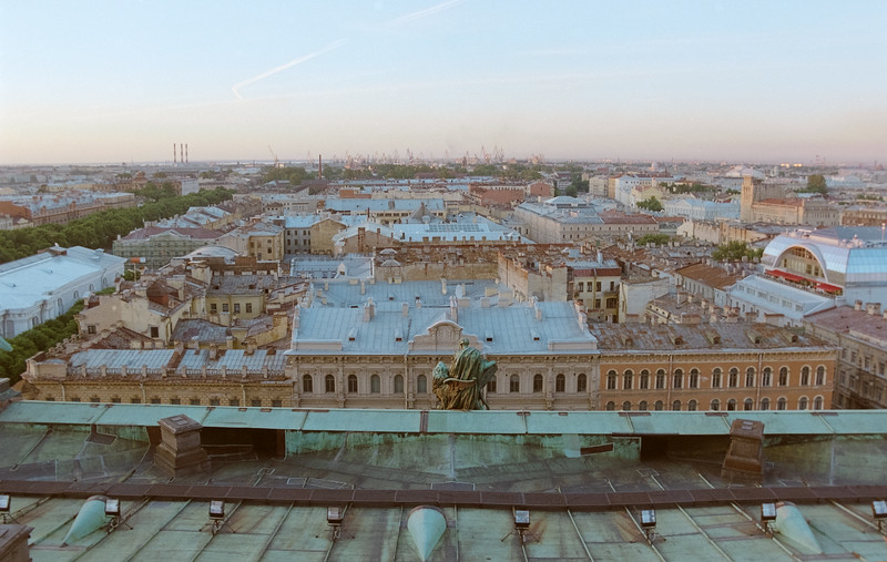 View From St Catherines, St Petersburg, Russia