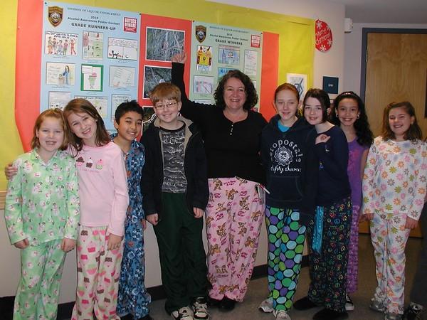 Danville School's PJ Day