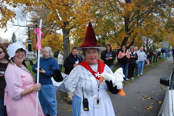 Pollard School Halloween Parade