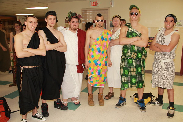 TRHS Spirit Week - Color Day 2011 Album I