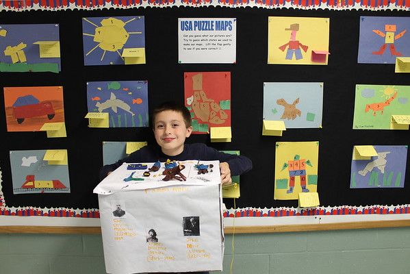 4th Grade Dioramas and Floats - State Projects