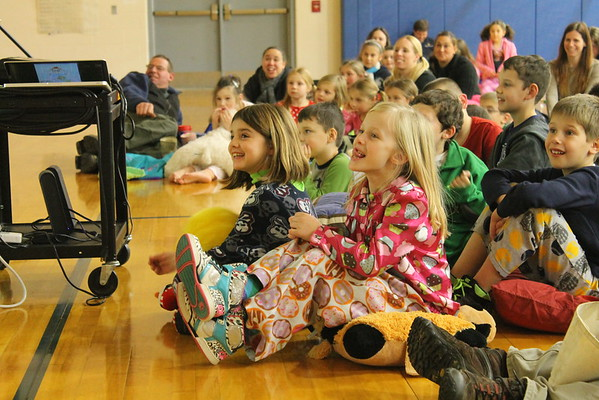 Pajama Literacy Night / Marty Kelley at Sandown North