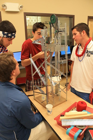 Principles of Engineering: Rube Goldberg Project