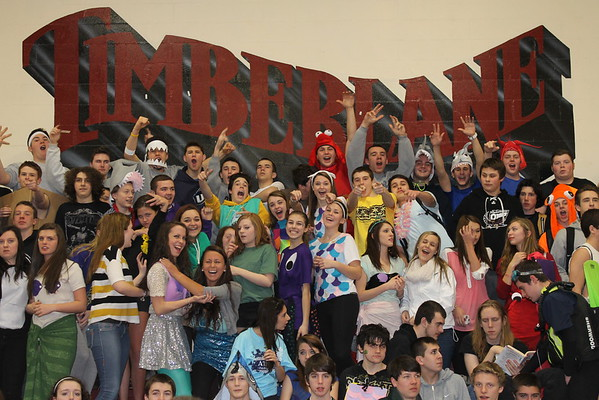 TRHS Spirit Week 2013: Costume Day