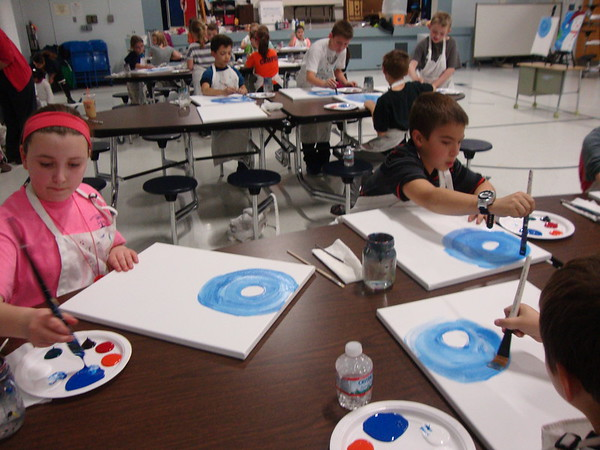Pollard PTA Kids Painting Parties