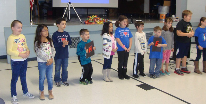 Pollard School Has HEART - Assemblies