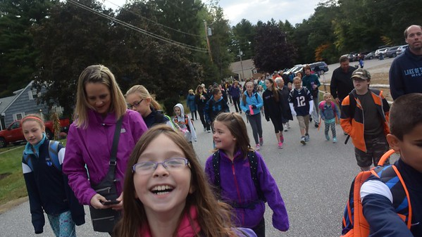 Pollard School Walk and Bike To School Day