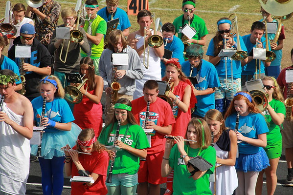 Spirit Week 2015 - Band Practice on Color Day