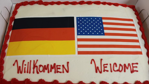 TRHS German Exchange (GAPP) Reception