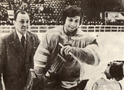 Леонид Герасимов и В.Я.Казарин