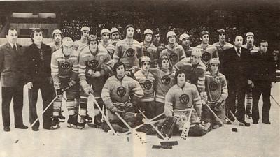 Команда Трактор (Челябинск) - обладатель бронзовых медалей в чемпионате СССР 1976-1977