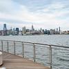 JERSEY CITY, N.J. - June 2, 2021: for NEWS. The New York City skyline from Hoboken
