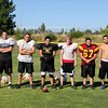 Offensive Line - Left to Right - Dillon Potter, Alex Silva, Donnie Farrel, Brandon Trimble, Danny Jones, Austin Lewis