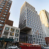 NEW YORK - December 10, 2020: for NEWS. 160 East 22nd Street in Grammercy, a cantilevered multiple dewling high rise building constructed in 2012 overhanging the air rights of 274 3rd Avenue. (Credit photo by: Taidgh Barron)