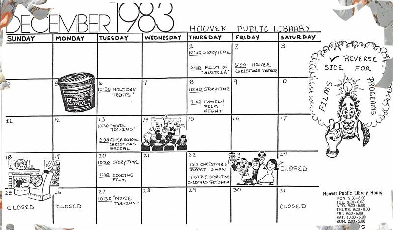 Calendar - December