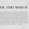 Ethical Issues raised by AIDS