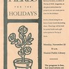 Herbs for the holidays