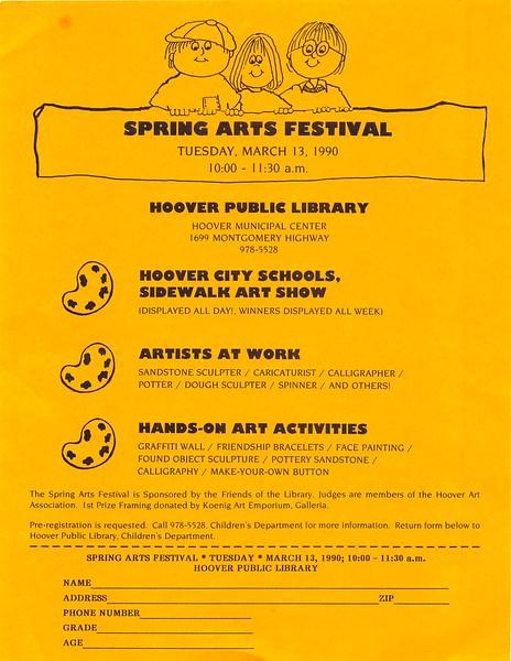 Spring Arts Festival