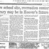New school site, recreation center, libary may be in Hoover's future