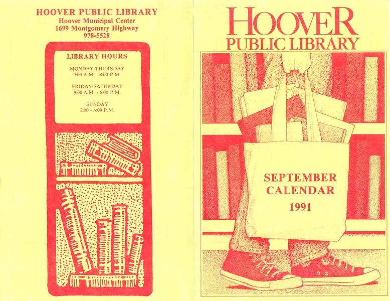 September Calendar 1991