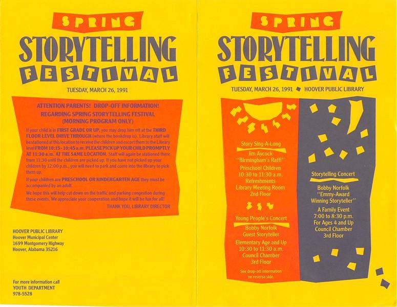 Spring Storytelling Festival