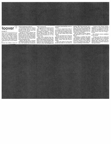 Hoover mayor defends contract