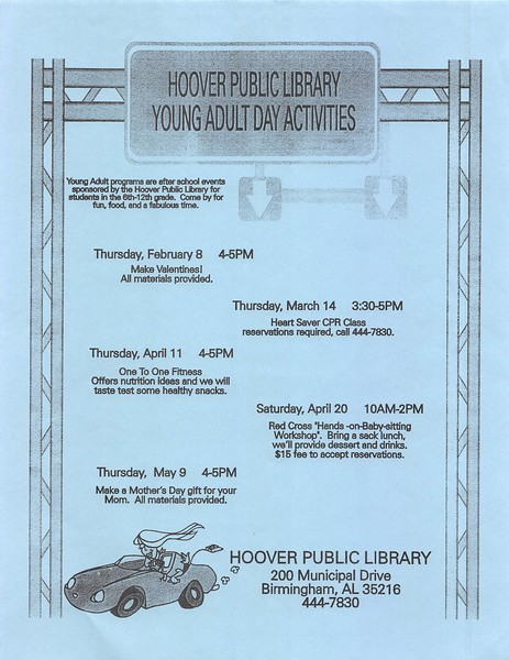 Young Adult Day Activities