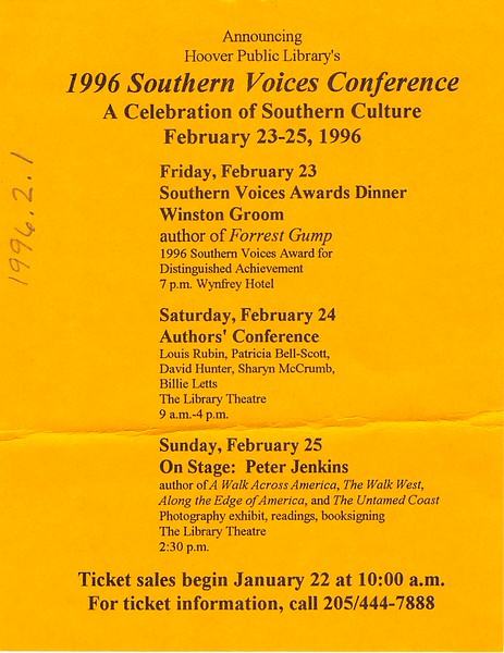 Southern Voices Conference