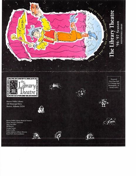 Library Theatre season '96-'97