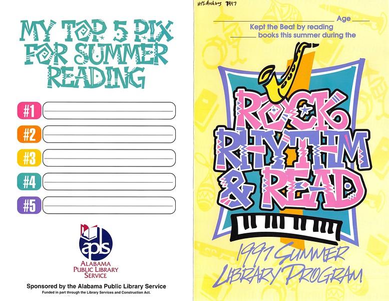 1997 Summer Library Program