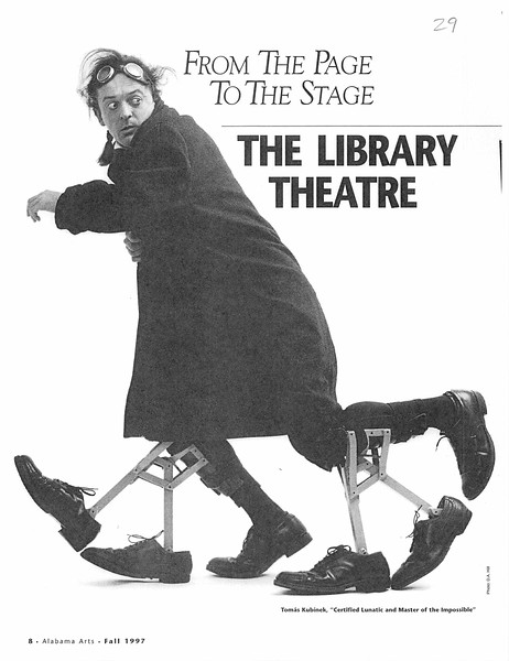 From the page to the stage: the Library Theatre