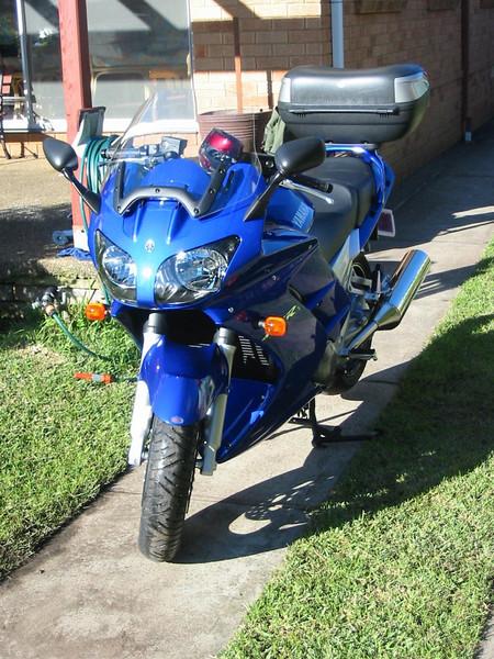 Got the bike home