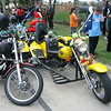 Lots of trikes to be seen