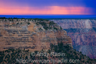 grand canyon abstract