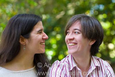 Sarah and Alexis