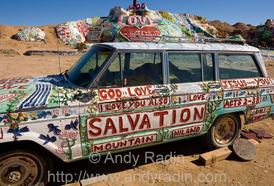 Salvation Mountain, near Niland, CA