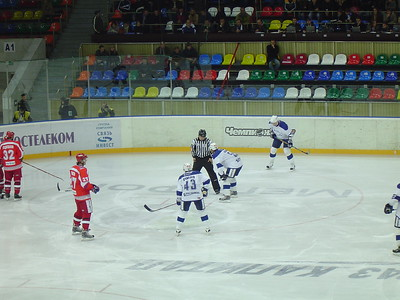 Динамо (Москва) - Локомотив (Ярославль) 3:6. 11 октября 2007