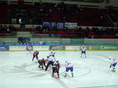 Крылья Советов (Москва) - Авангард (Омск) 1:17. 3 марта 2007