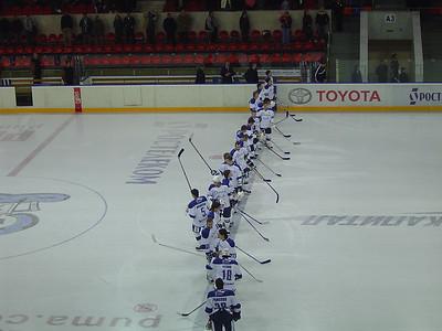 Динамо (Москва) - Северсталь (Череповец) 4:1. 13 октября 2007