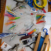 IMG_1002.jpg<br /> Cruising in Curacao.<br /> Anna on Gecko preparing the fishing gear.
