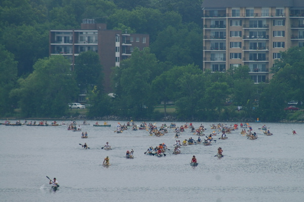 Tri Loppet - paddle-run-bike