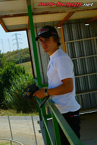Testing session with Robert Batlle, Spain 2008