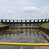 IMG_1128.JPG<br /> Strolling along the Rio Chagres.<br /> Gatun dam