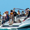 "IMG_0135.JPG<br /> The making of the ""A Quantum Solace"" Bond movie in Panama.<br /> Daniel and Olga"