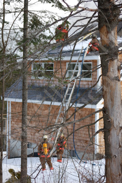 Stover Road Fire